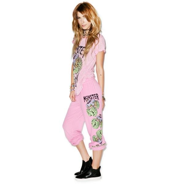 Lauren Moshi Tanzy Neon Monster Truck Pants