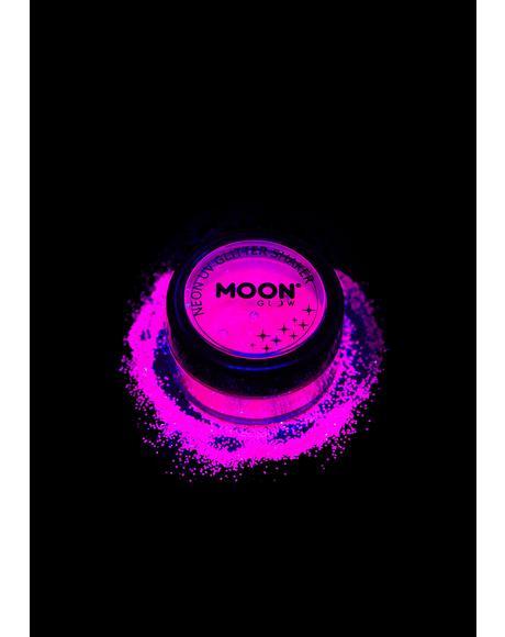 Neon Pink UV Glitter Shaker