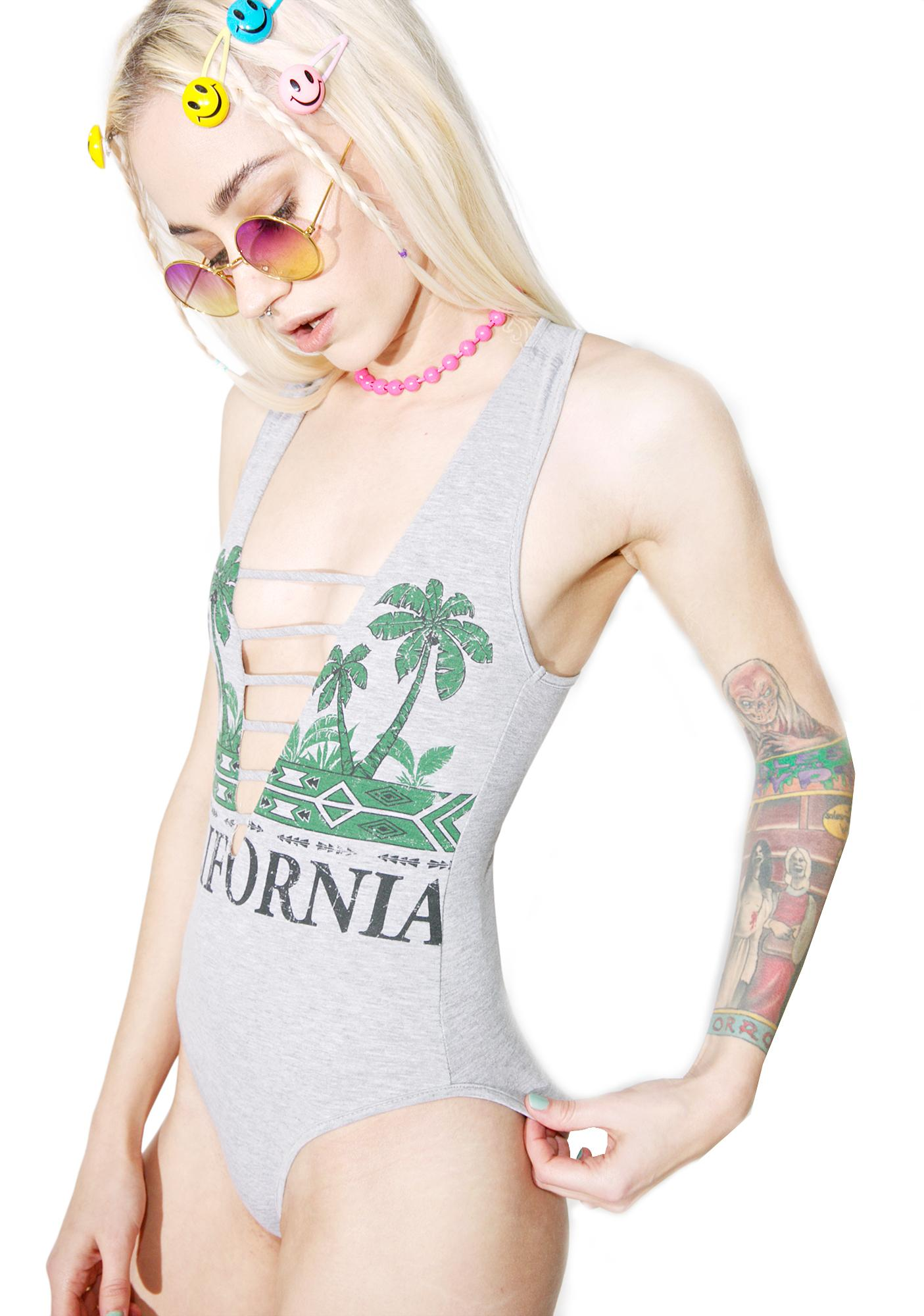 California Love Graphic Bodysuit