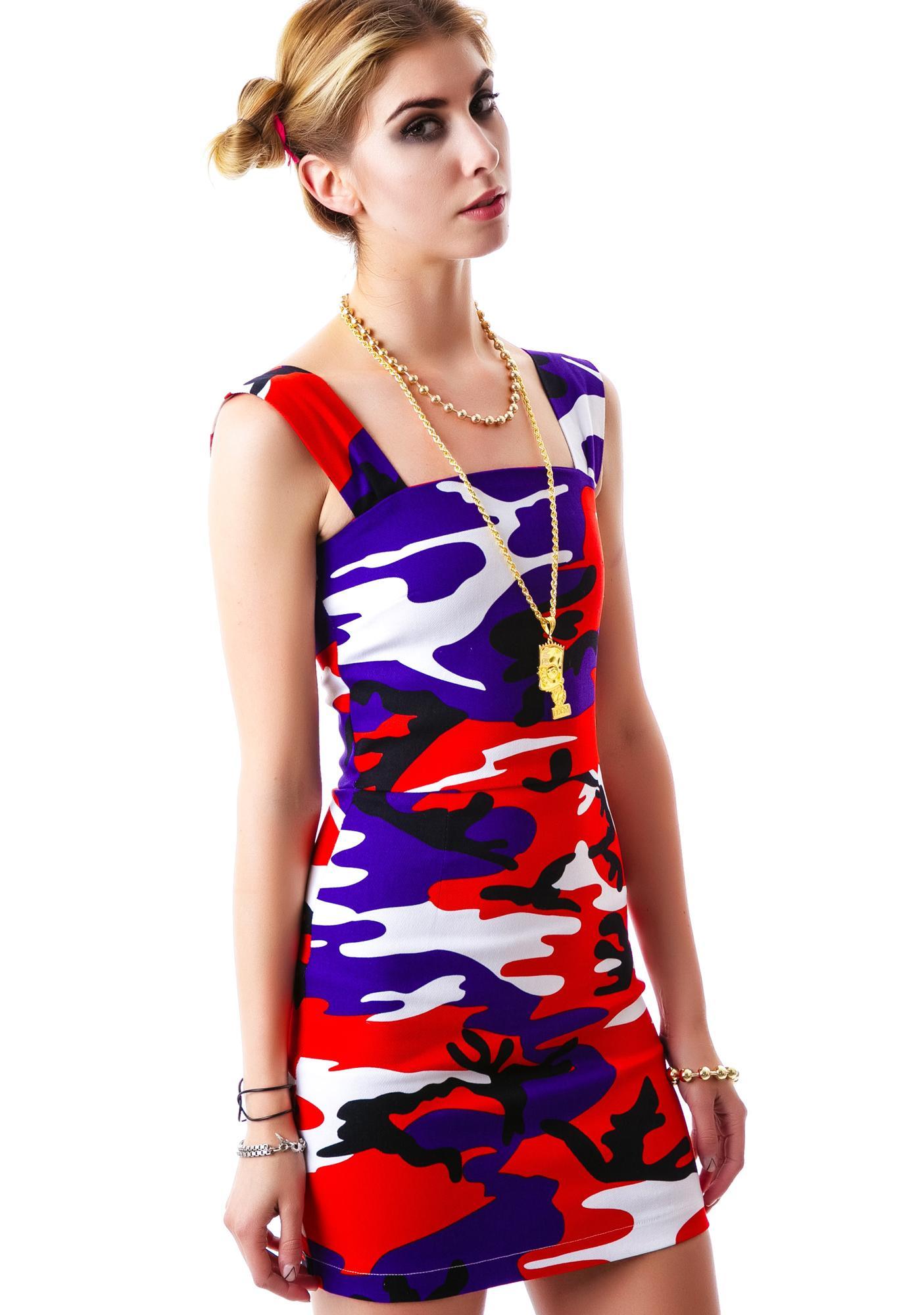 Joyrich Ocean Safari Tube Dress