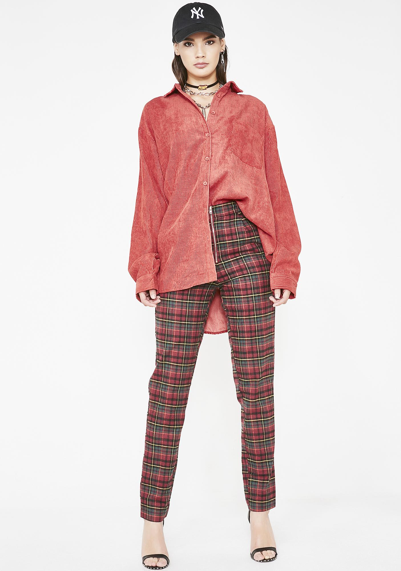 Payback Plaid Trousers
