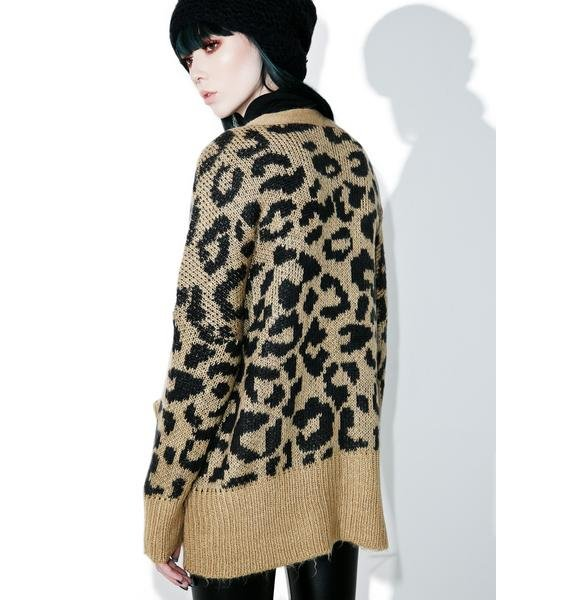 Wildfox Couture Roar Cardigan