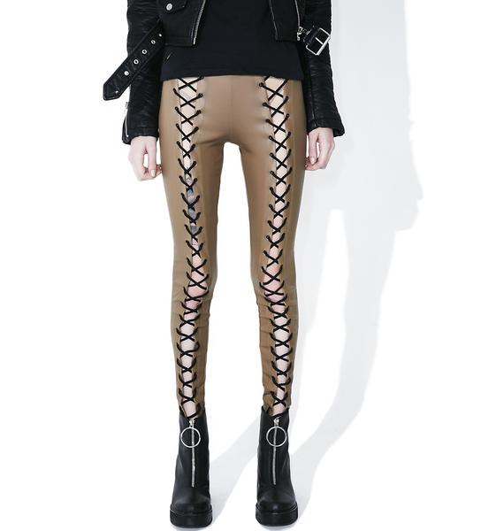 Current Mood Nude Nancy Corset Leggings