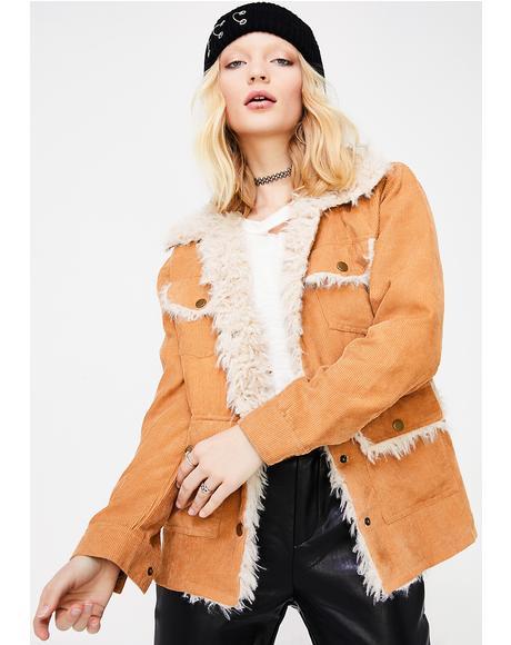Cold Heart Fuzzy Jacket