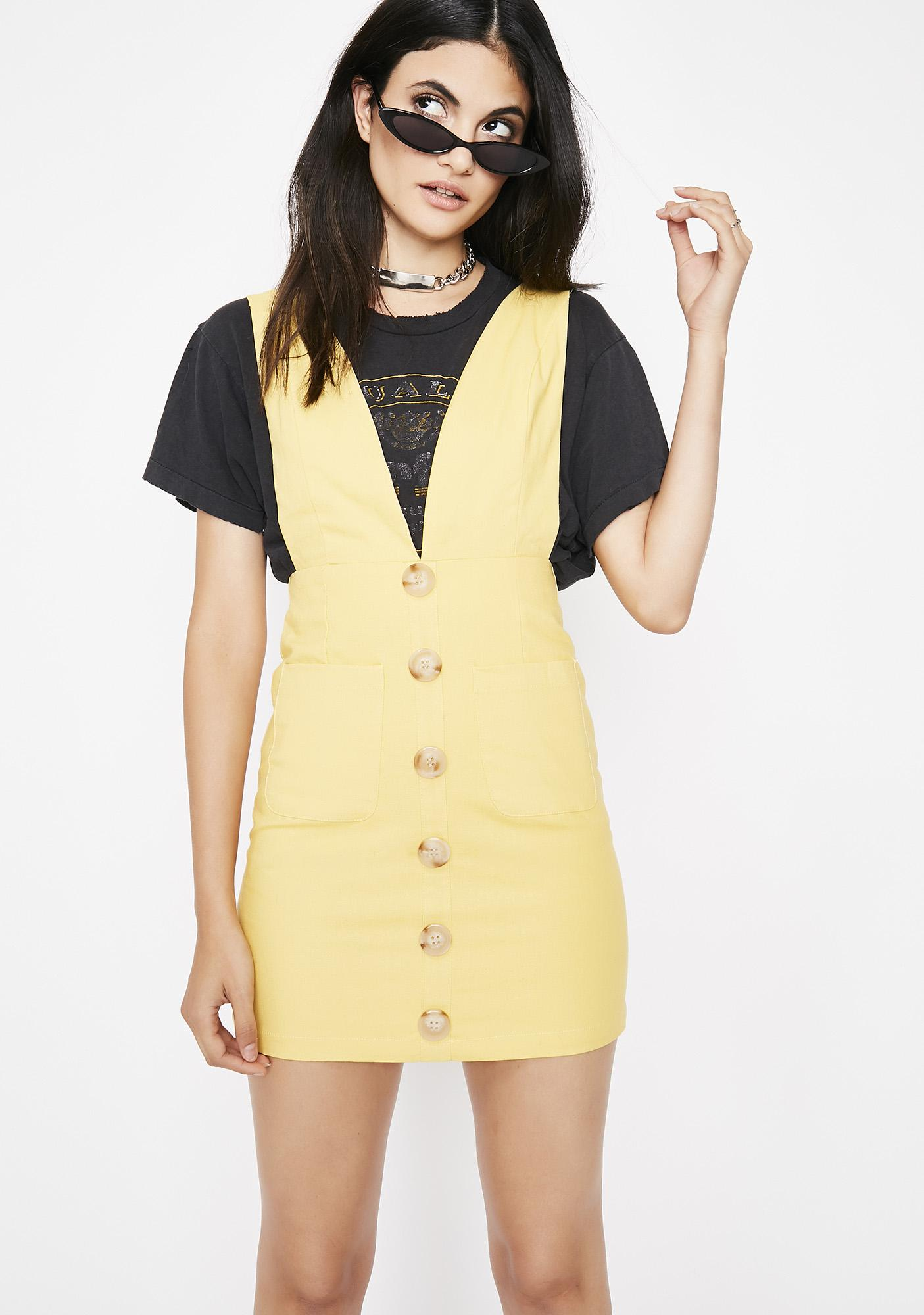 Brighter Daze Pinafore Dress by Etophe Studios