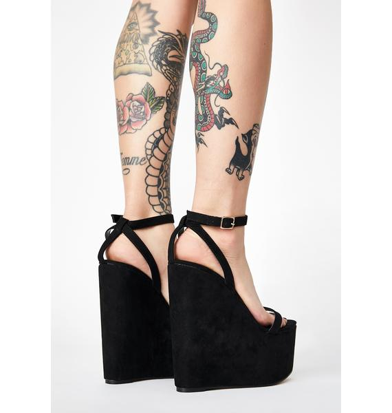 Higher Level Wedge Heels