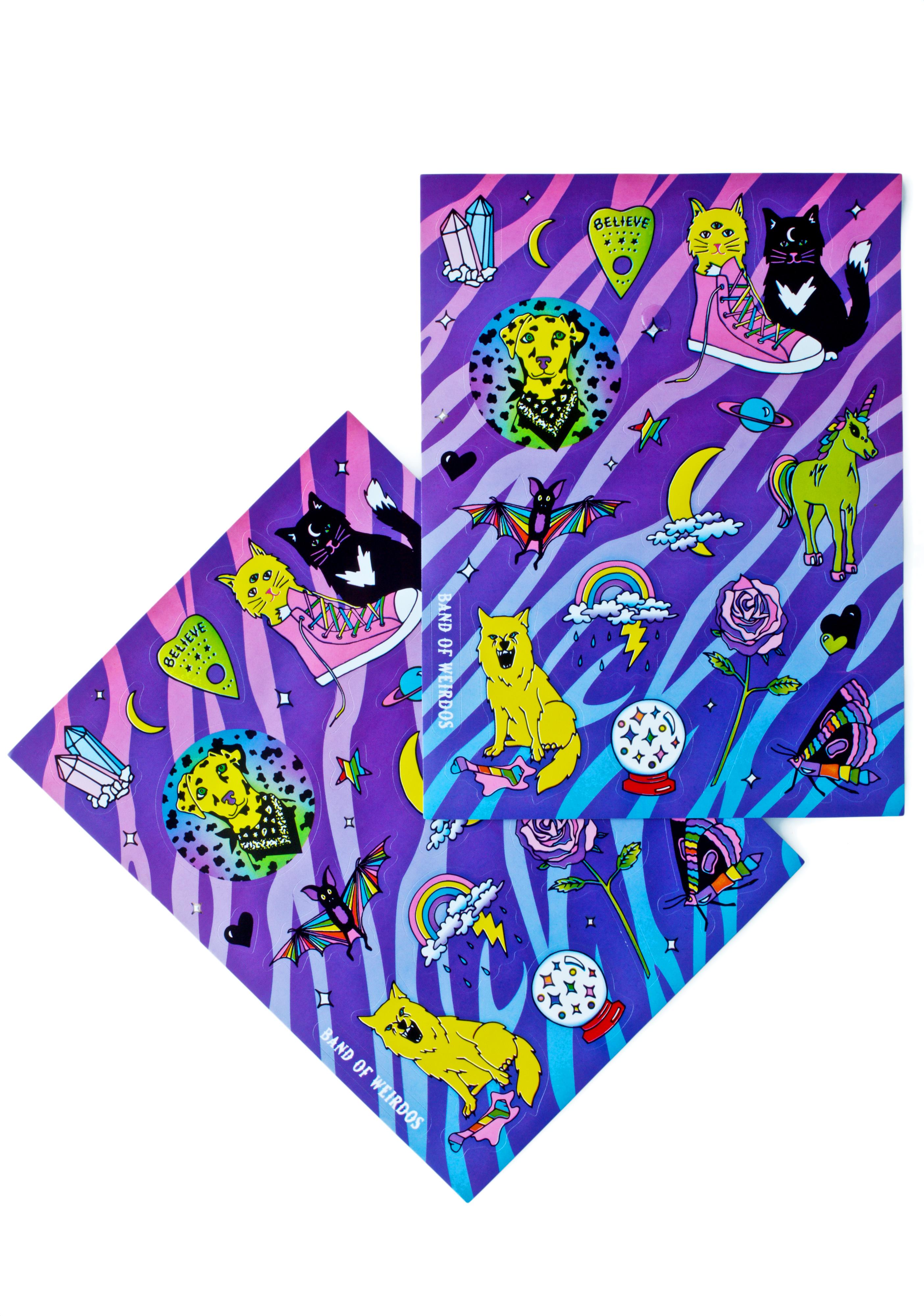 Band of Weirdos Good Trip Sticker Pack