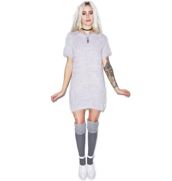 For Love & Lemons Snow Day Sweater Dress