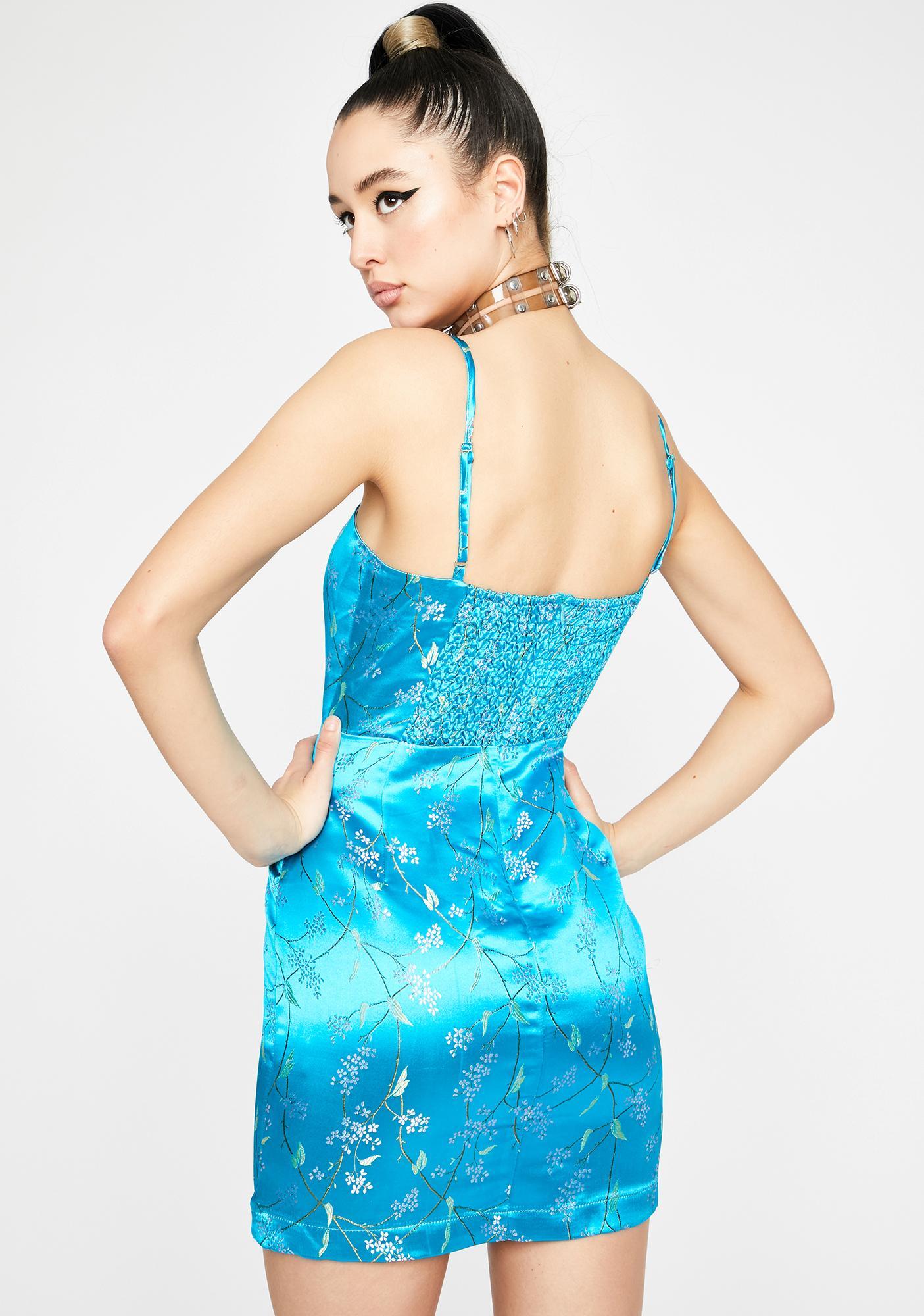 Sky Forever Fate Mini Dress
