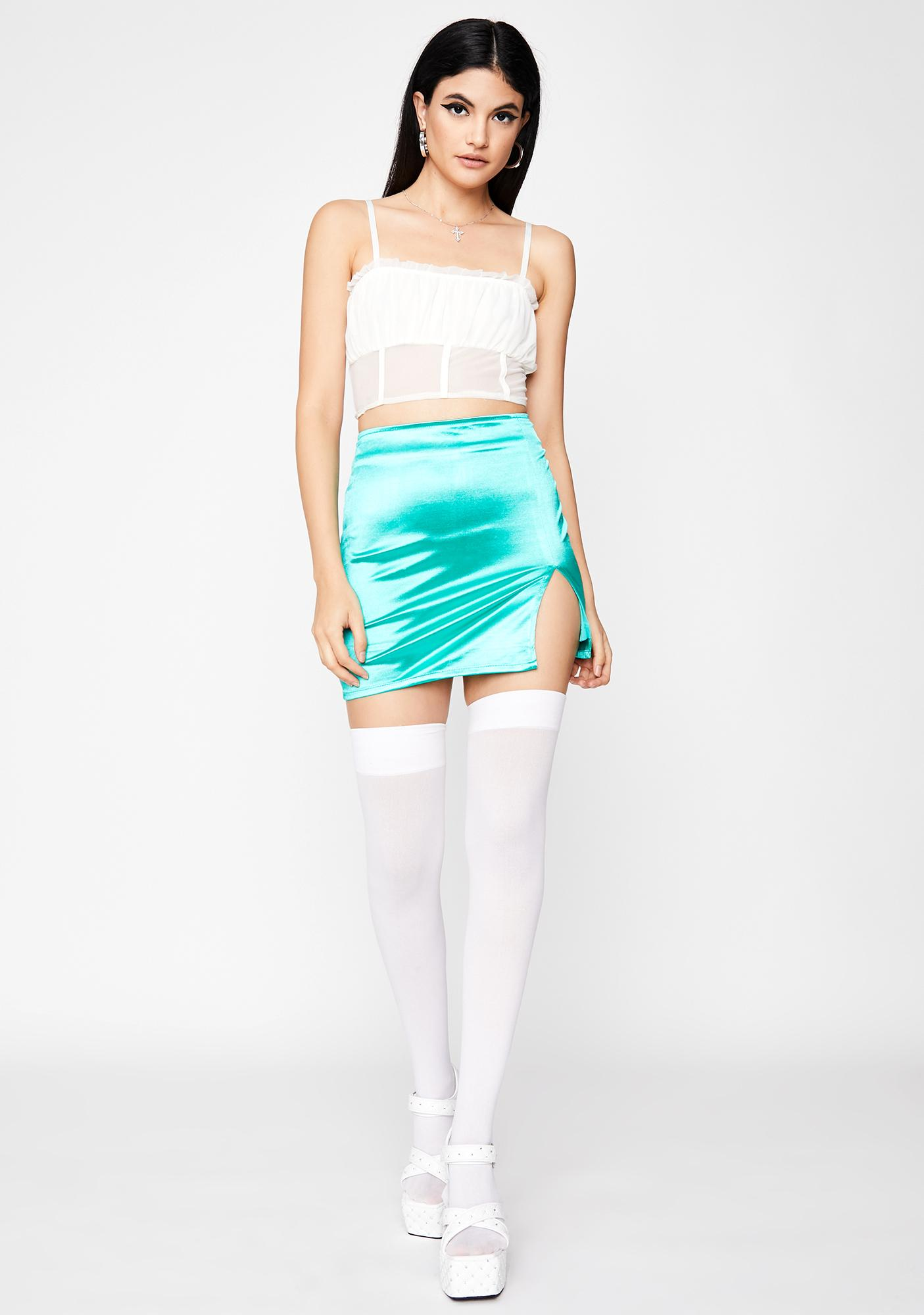 Marine Total Temptation Mini Skirt