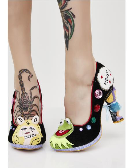 Miss Piggy Interchangeable Skirts Heels