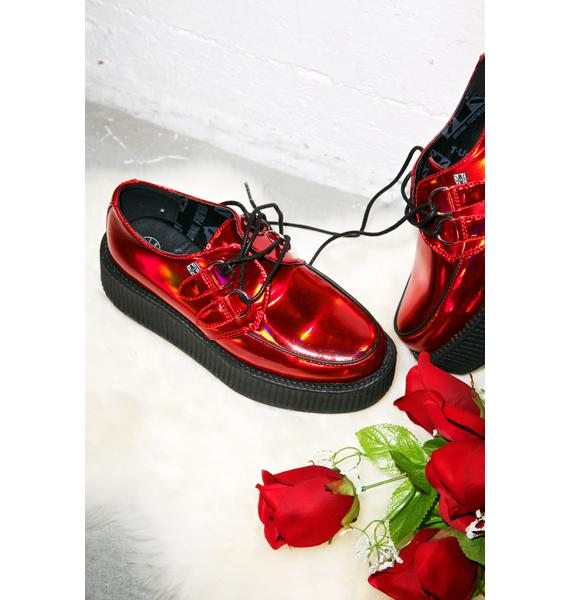 T.U.K. Prismatic Red Creepers