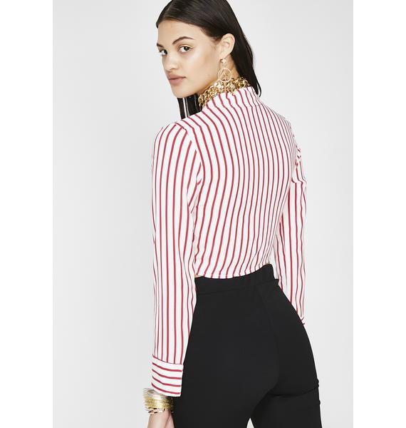That New New Striped Blouse