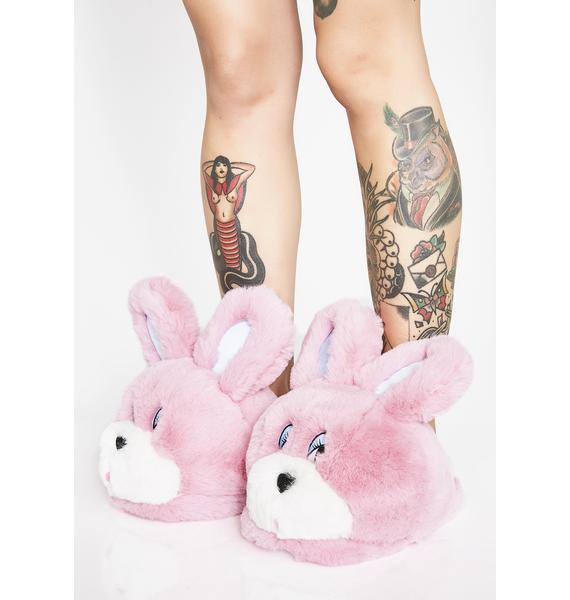 Lazy Oaf Bunny Slippers
