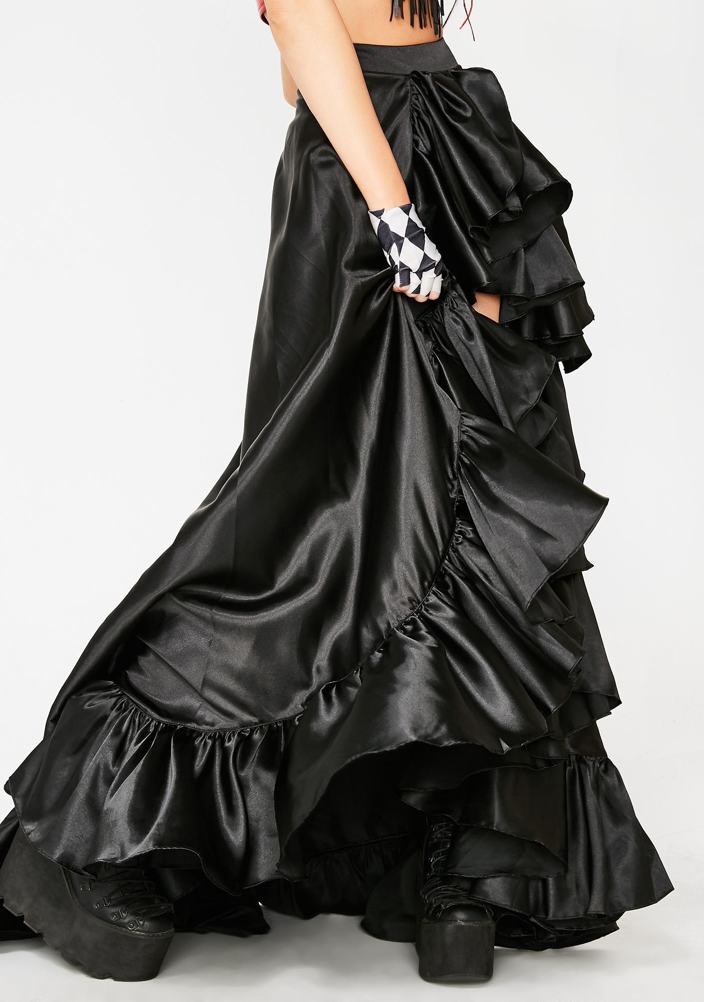Kiki Riki Hail To The Kween High Low Skirt
