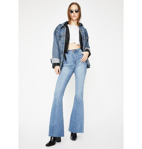 Articles of Society Haven Bridgette Flare Jeans