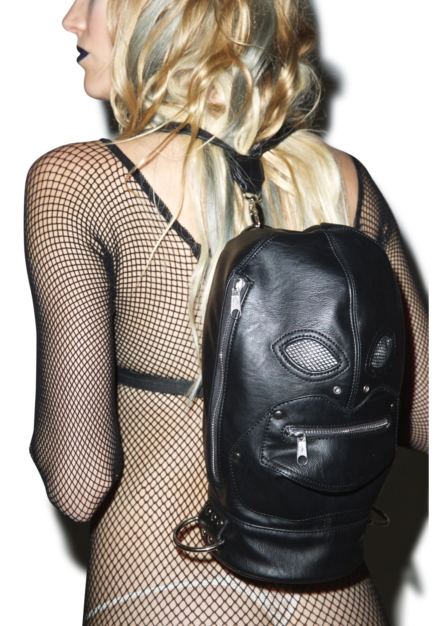 Current Mood Zipper Face Backpack