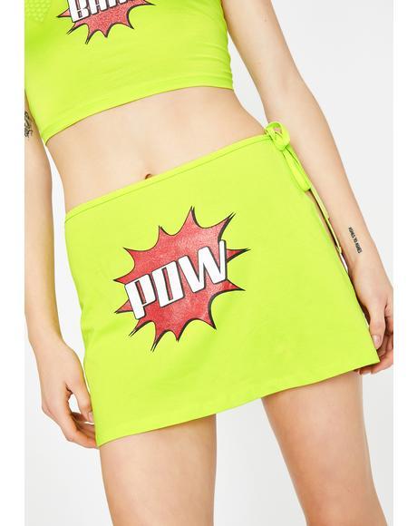 Double Whammy Mini Skirt