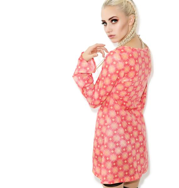 Plaid Getaway Dress