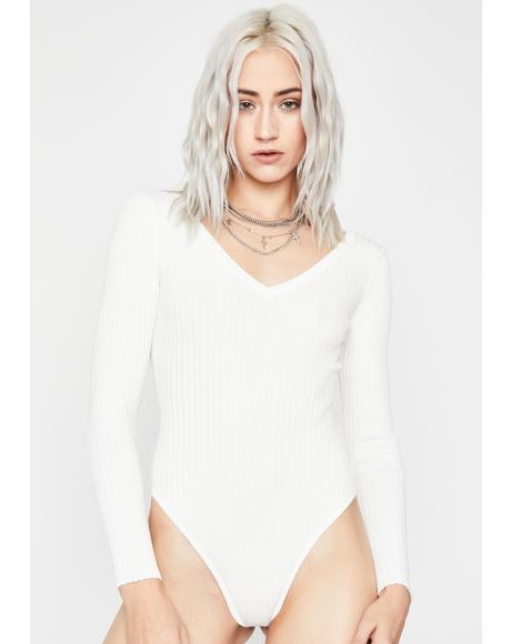 Heart To Break Ribbed Bodysuit