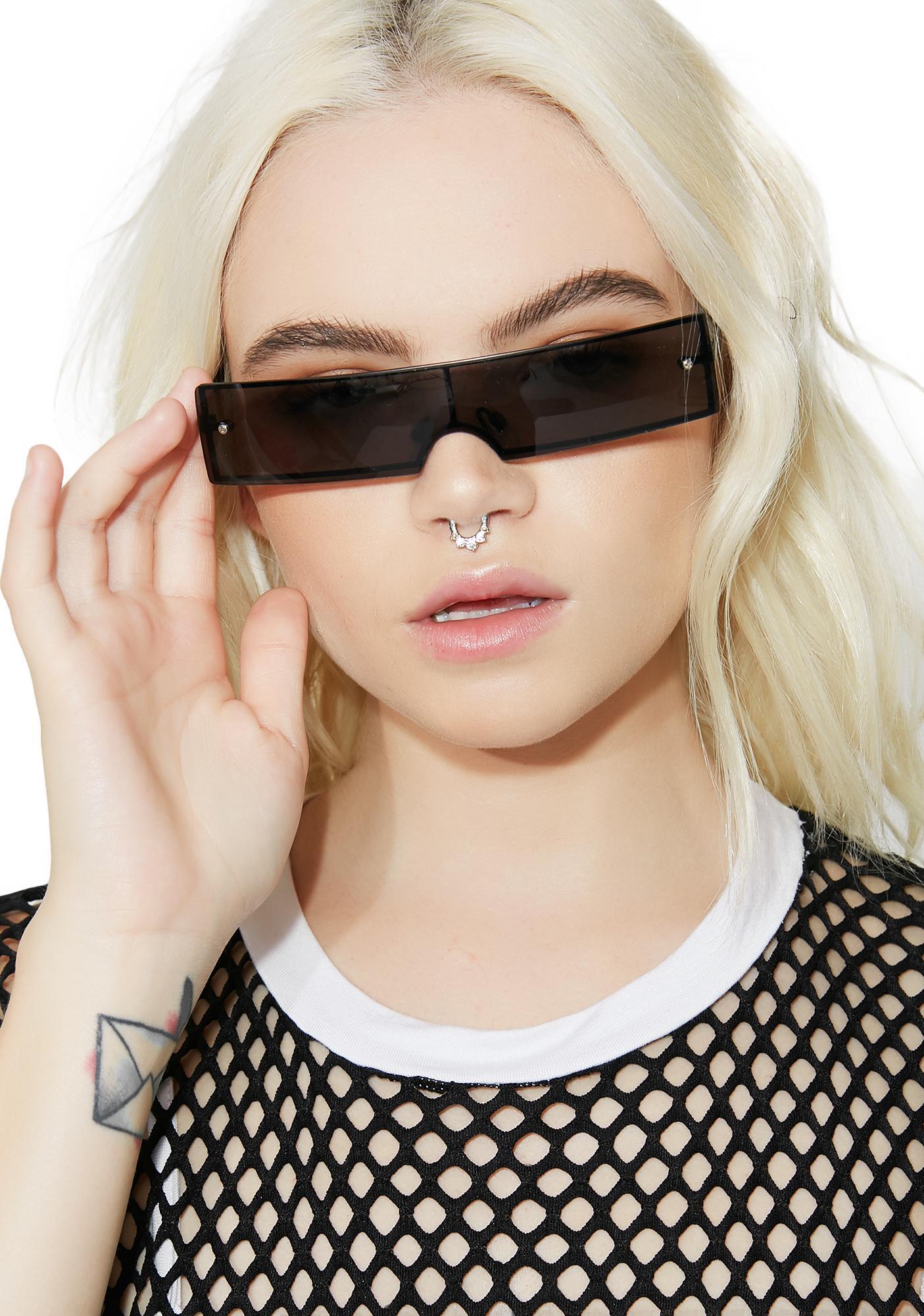 Dark Step Off Shield Sunglasses