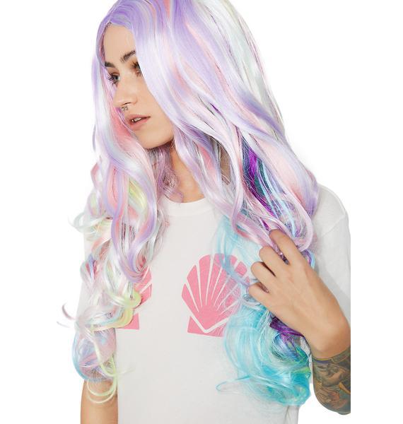 Rainbow Sorbet Long Wig