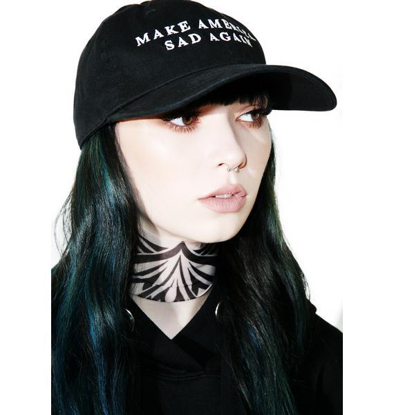 Sad Boy Crew Make America Sad Again Hat