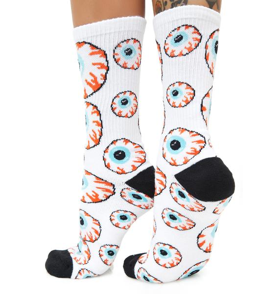 Mishka Keep Watch Socks
