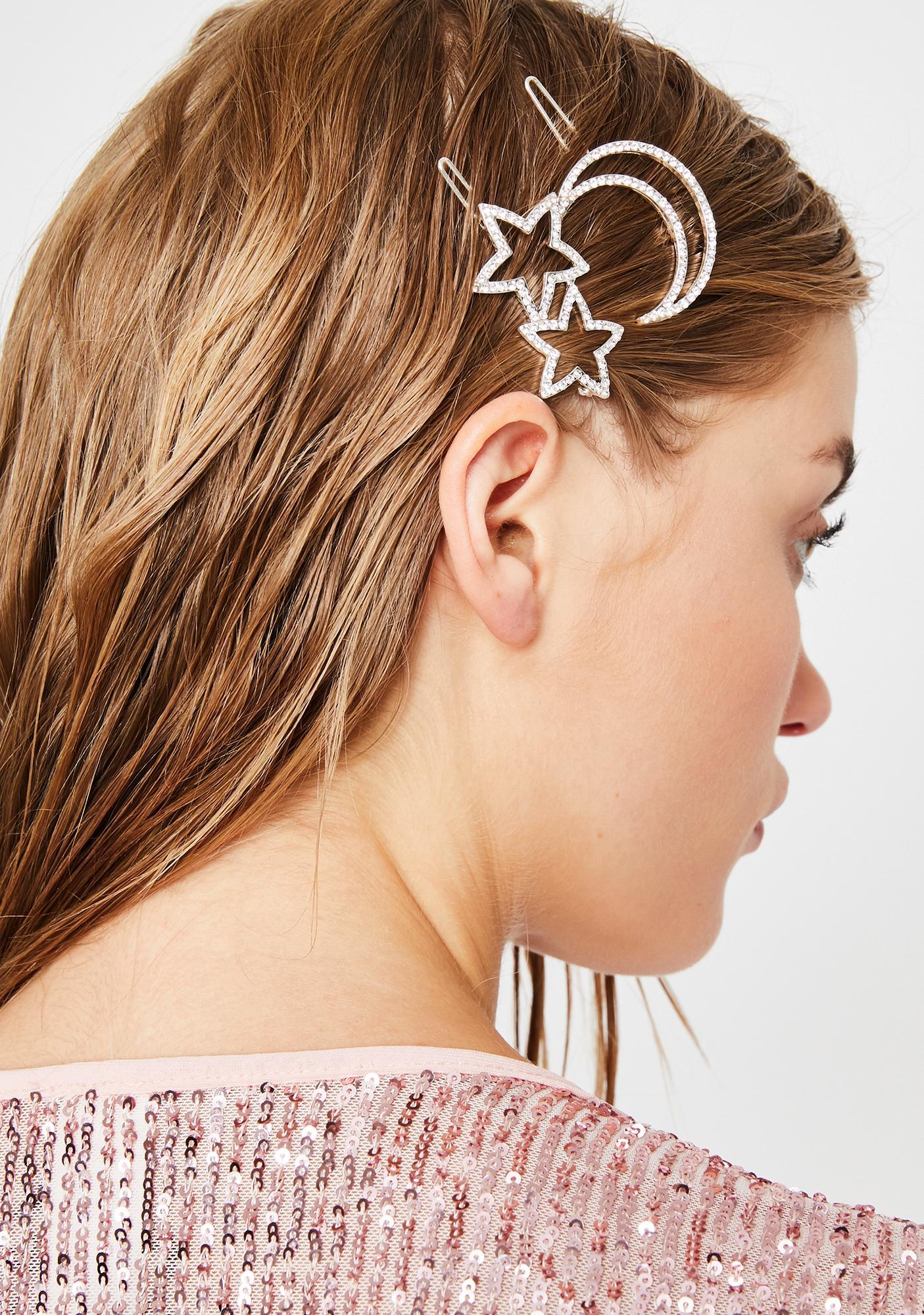 Cosmic Magic Hair Clip Set