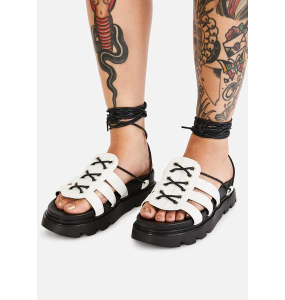 Lamoda Time's Up Gladiator Sandals
