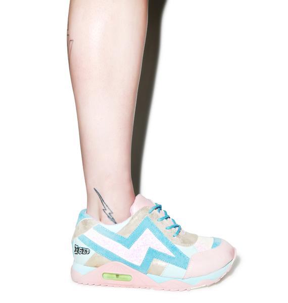 Irregular Choice Big Bolt Sneakers