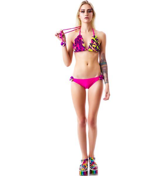 Furry Delight Bikini Set