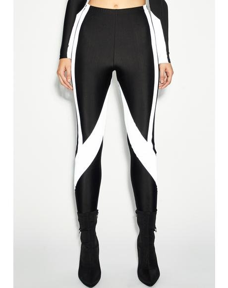 Drip Demeanor Reflective Leggings