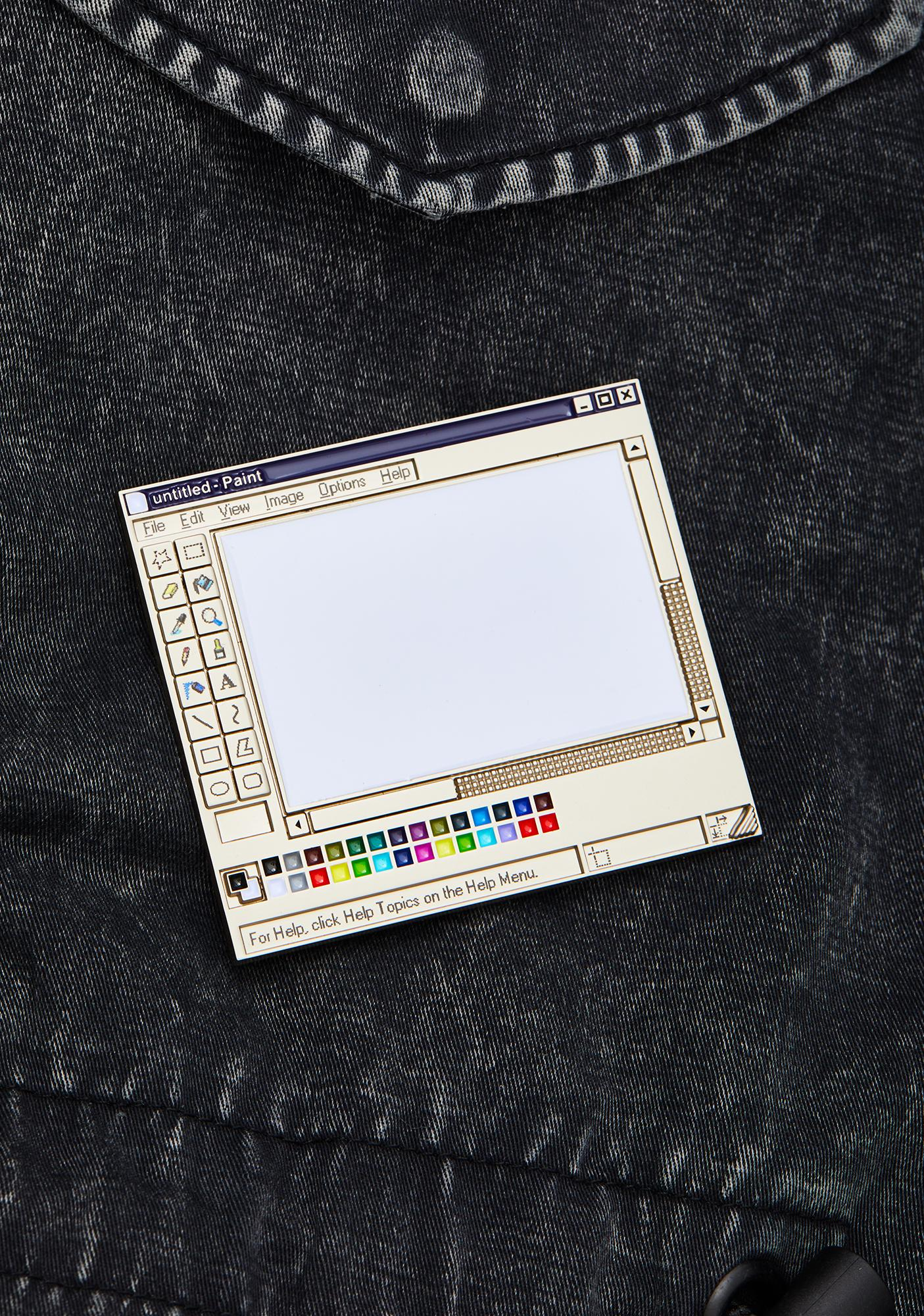 Studio Cult MS Paint Enamel Pin