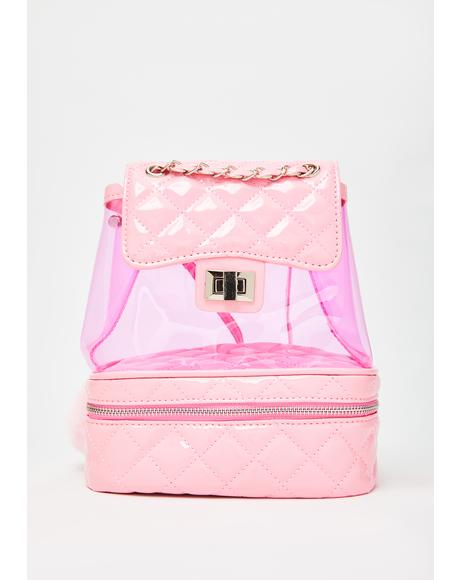 The Heiress Life PVC Backpack