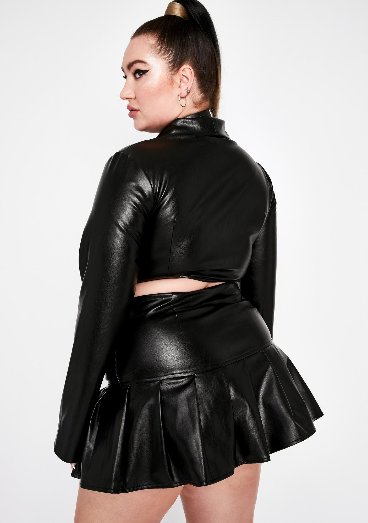 True Dreamer District Pleated Skirt