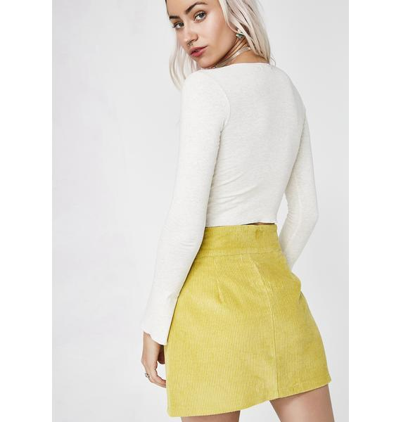 Let It Be Mini Skirt