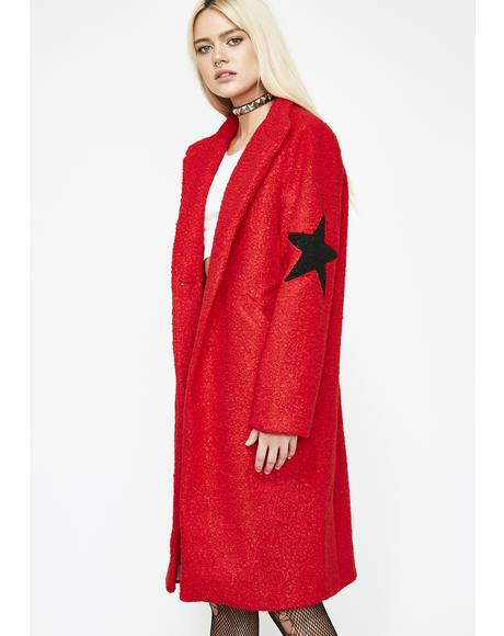 Wish On A Star Longline Coat