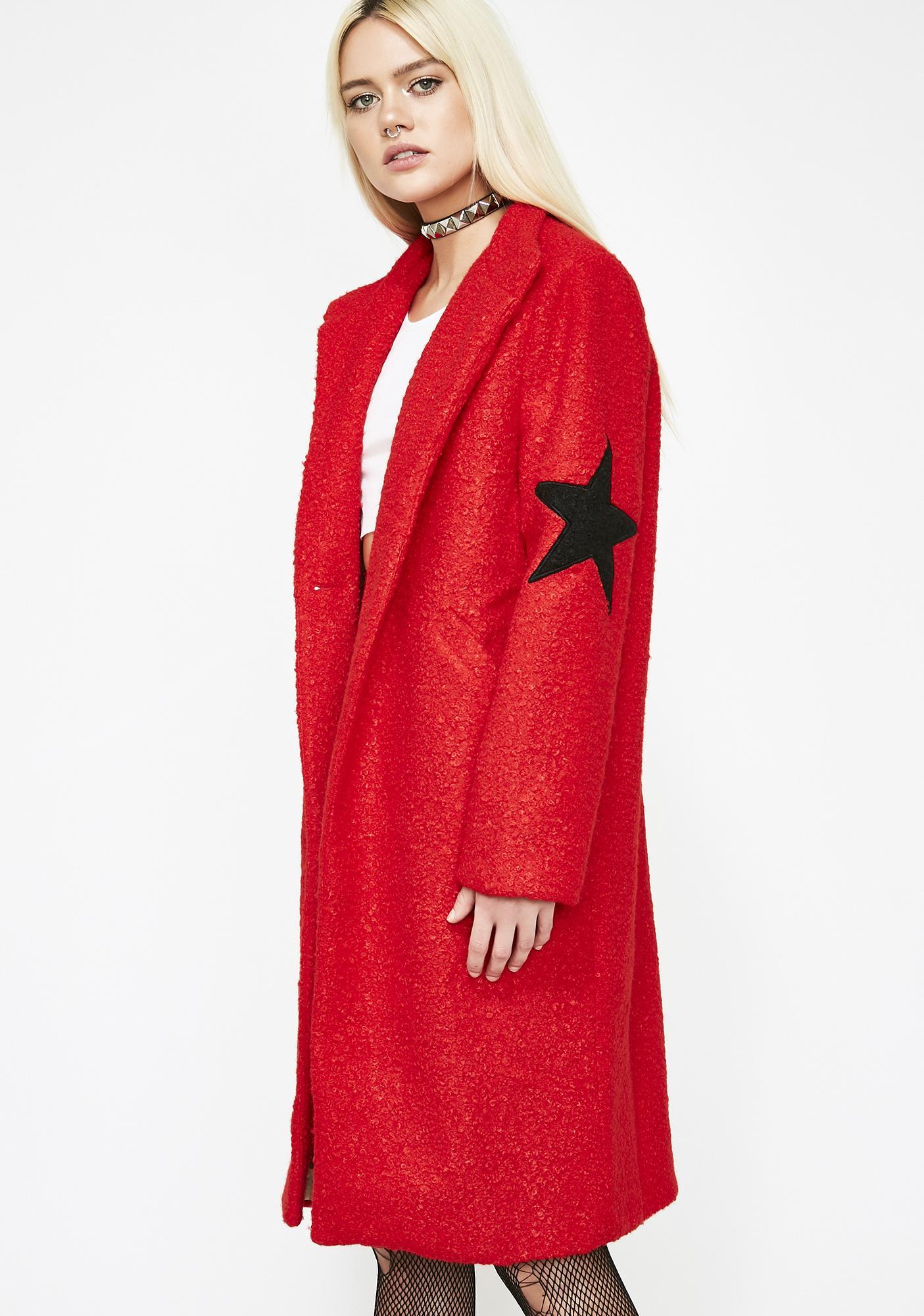 Wish On A Star Longline Coat