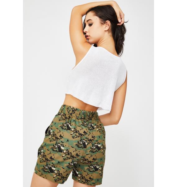Nana Judy Camo Matira Cargo Shorts