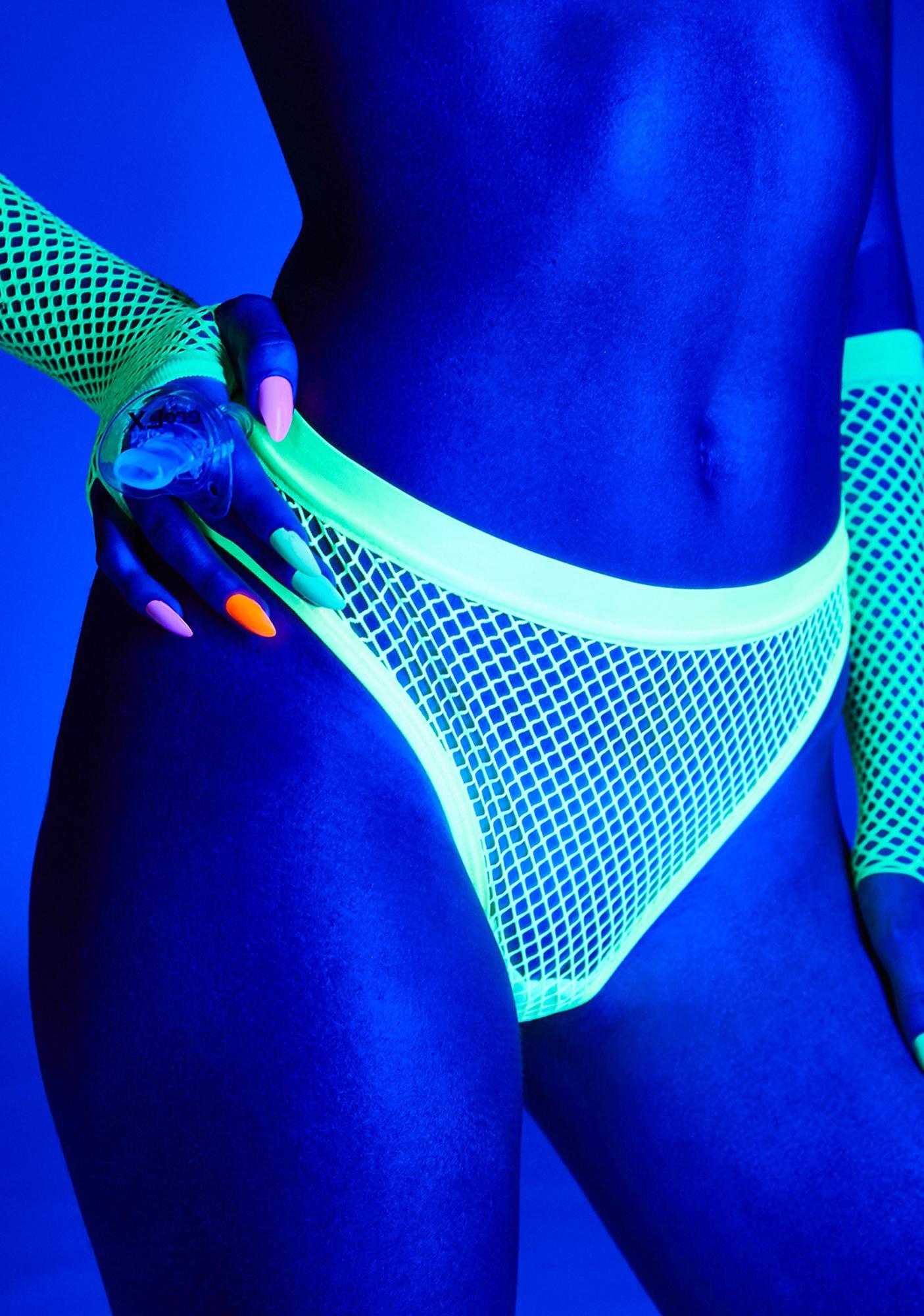 Club Exx Thrill Seeker Fishnet Bottoms