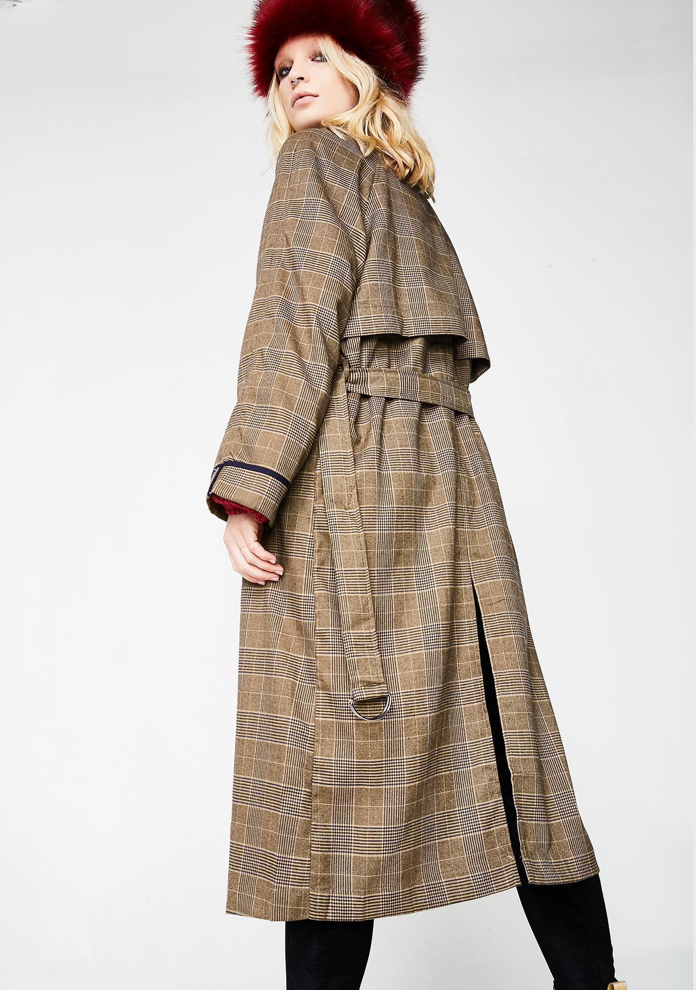 Gettin' Schooled Trench Coat