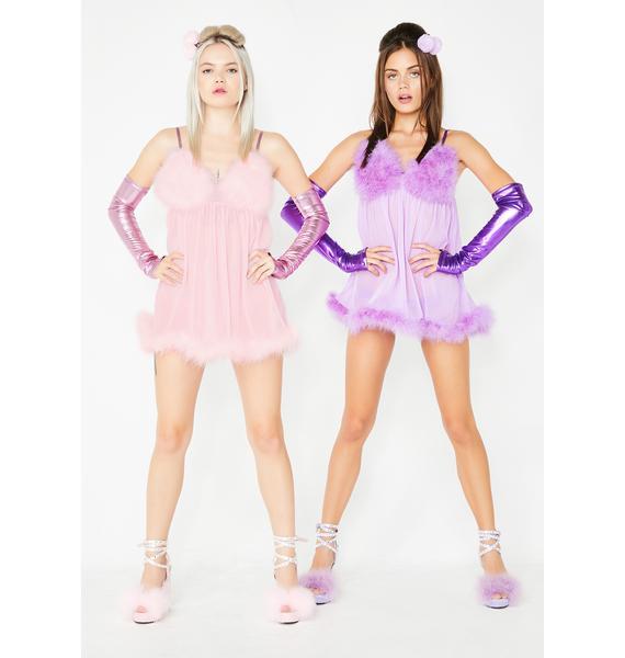 Dolls Kill Sweet Fembot Babe Costume Set