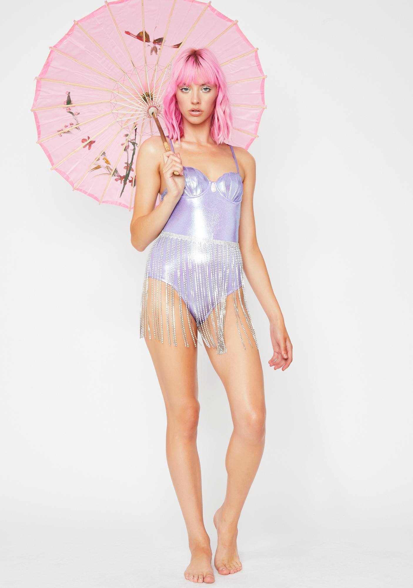 Margarita Mermaid Siren One Piece Bikini