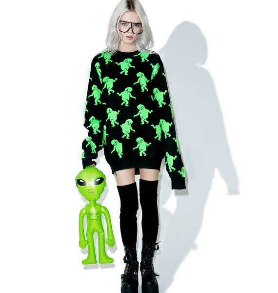 RIPNDIP Dancing Alien Sweater
