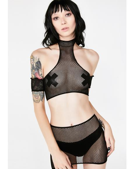 Dark Dreamz Fishnet Set