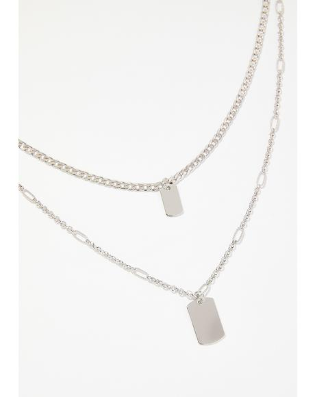 Not Your Bish Layered Necklace