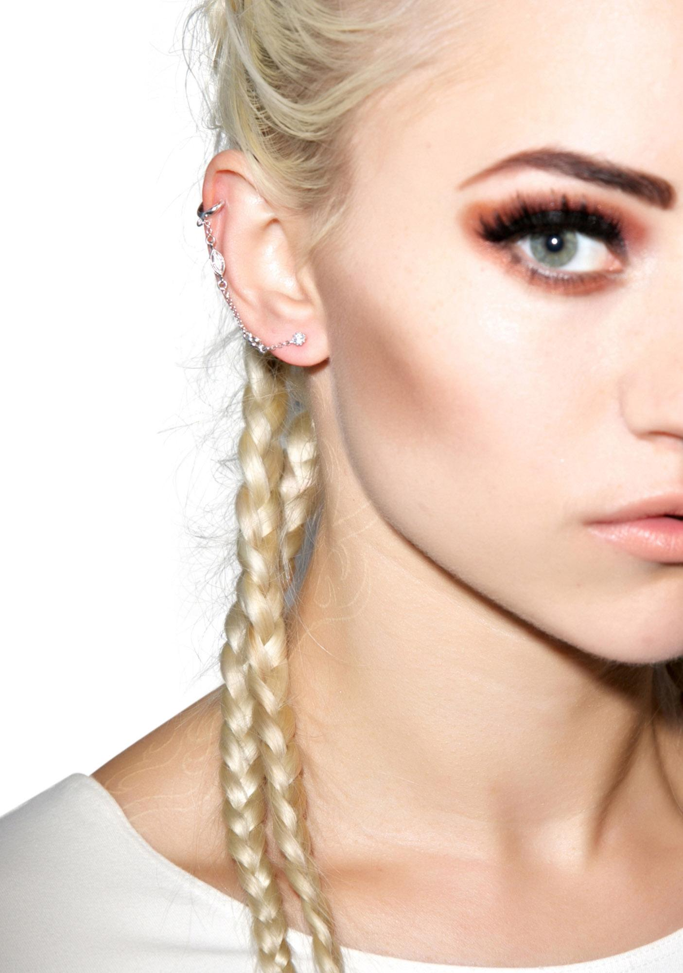 Vanessa Mooney Hologram Earcuff