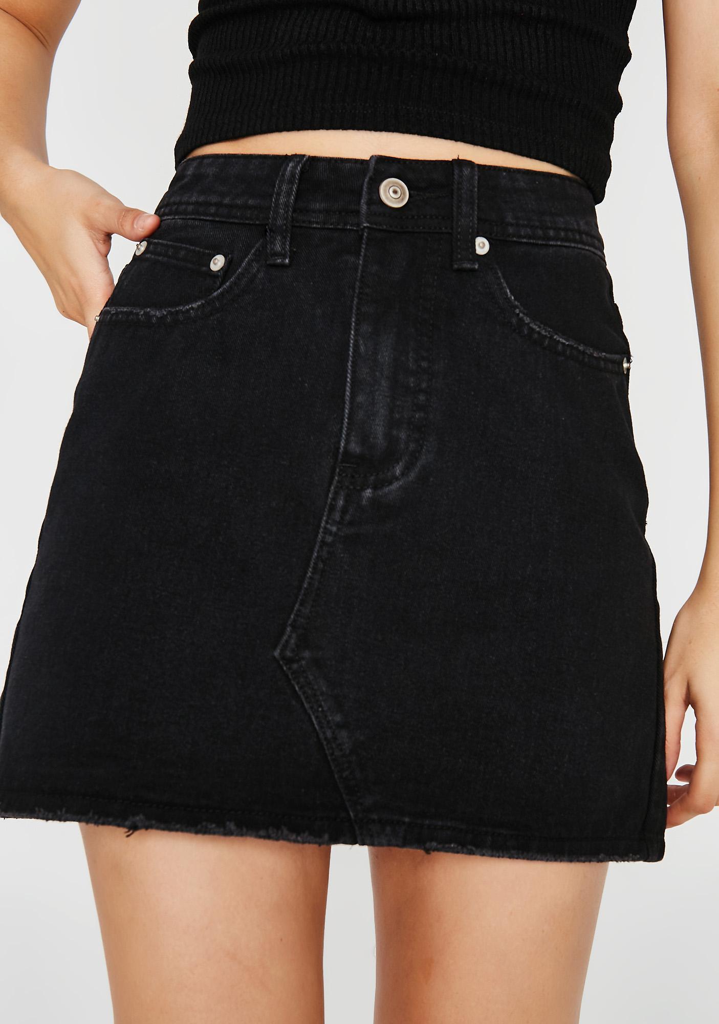 More To Love Denim Skirt