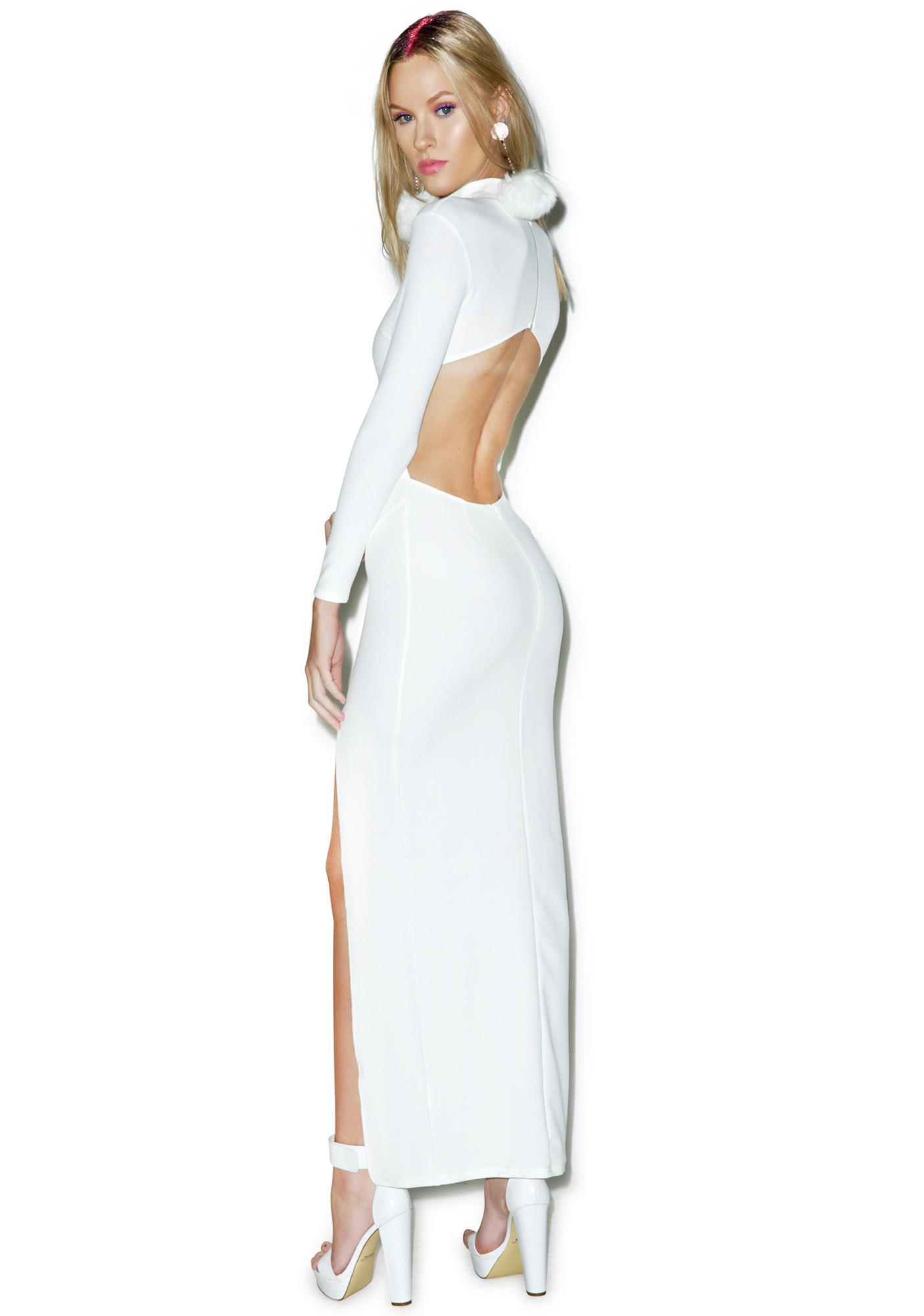 White Hot Maxi Dress